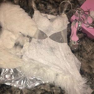 Playboy Hef's Nice Angel Costume